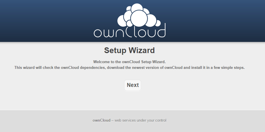 ownCloud Ver.7をインストールしてみた。